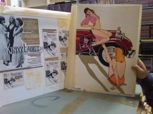 Original Art for Kinky Ladies of Bourbon Street