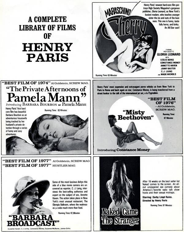 Radley Metzger films