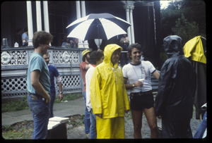 Behind the scenes on the set of Armand Weston's 1979 thriller, The Nesting