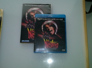The Nesting, Blu Ray and DVD