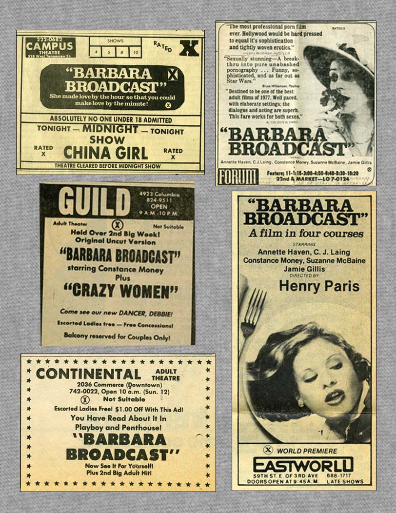 Various Newspaper Ads!!