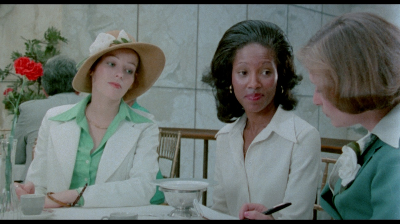 Shirley Peter's (Center), as Joyce.