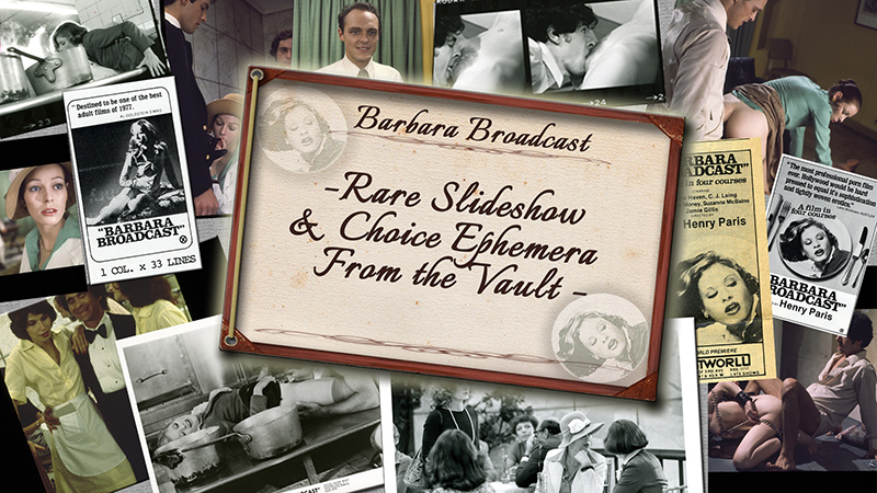 DVD MENU GRAB - Rare Slideshow and Ephemera Gallery- Never before seen images