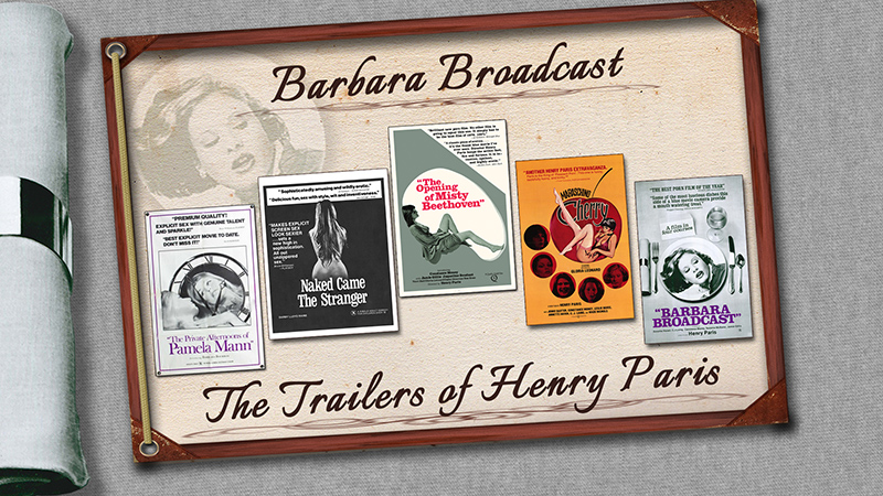 DVD MENU GRAB - All 5 Original Henry Paris Trailers, transferred in HD
