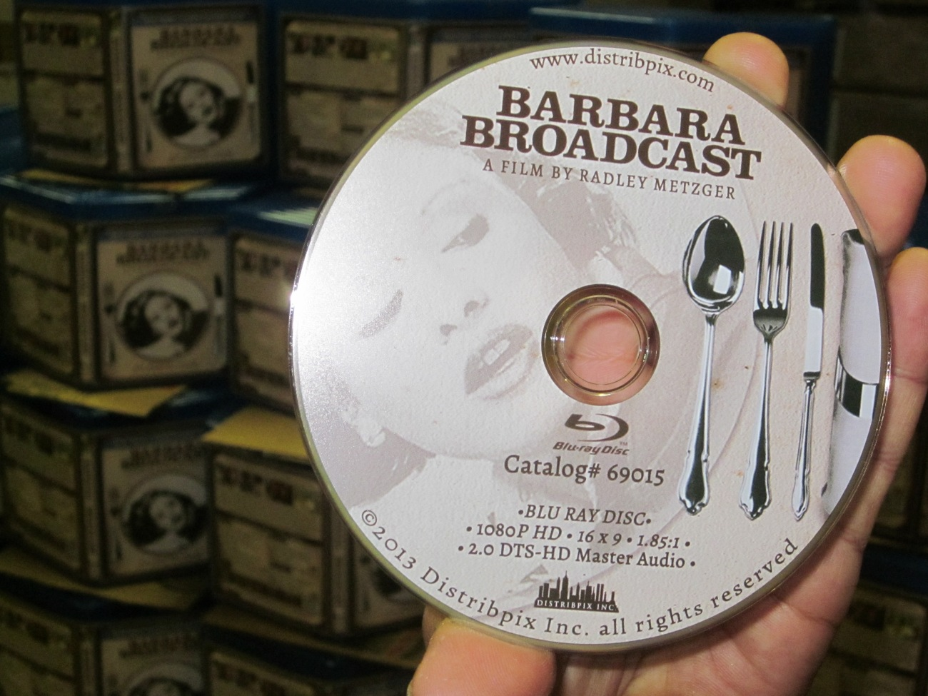 The brand new Blu Ray Disc for Barbara Broadcast- 1080p HD!!