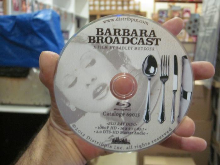 Barbara Broadcast Blu Ray Disc