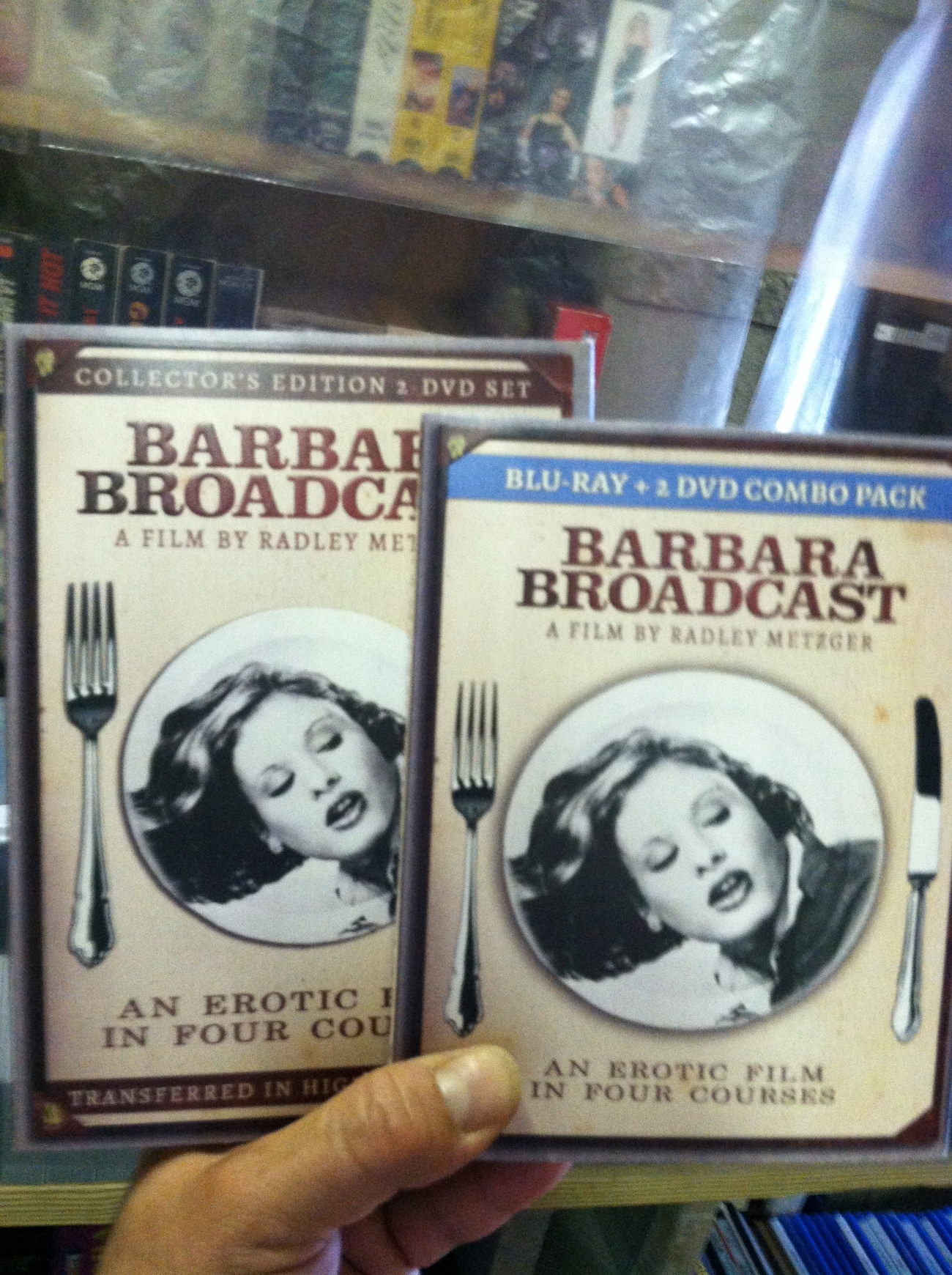 This film has been totally restored - from fruits to nuts. The new and much improved Barbara Broadcast 2013.