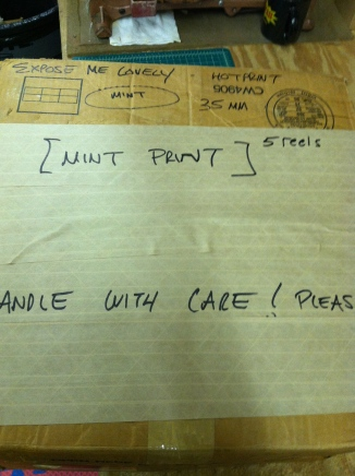 STEP 4: First box packaged and reinforced, marked clearly, and in many cases, this can ship perfectly in this condition.