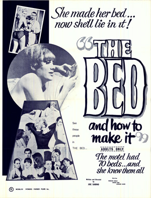 Theatrical Poster for The Bed and How To Make It, 1966, Directed by Joe Sarno. ©Distribpix Inc.