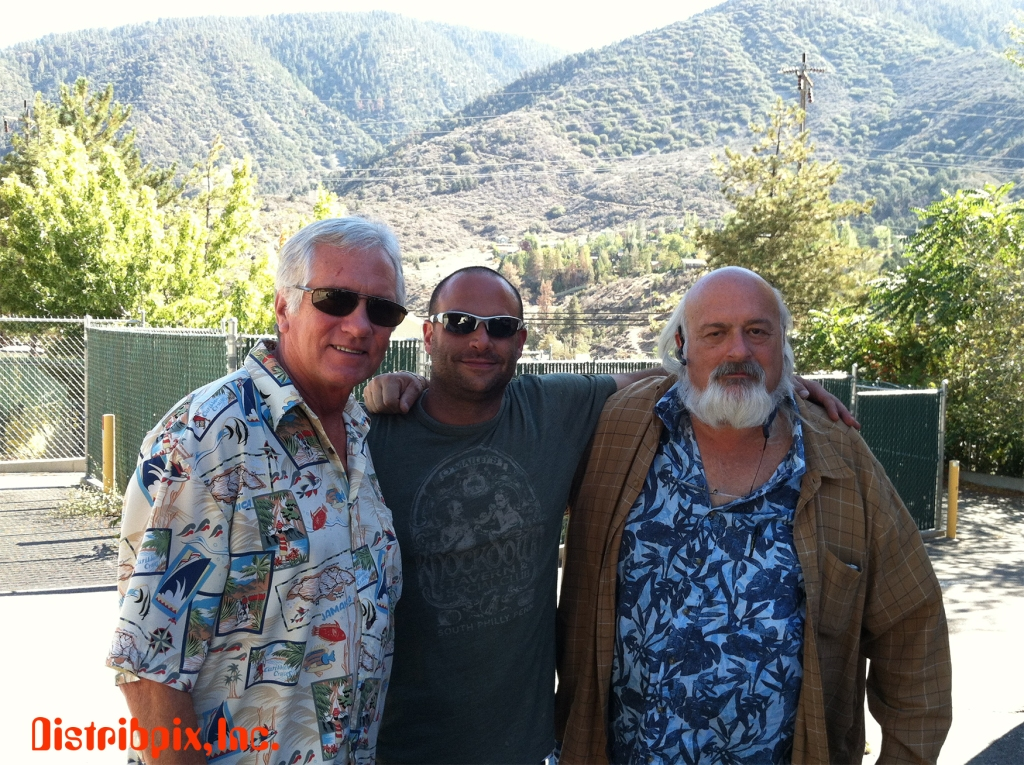 Adult Industry Legend -Eric Edwards, Distribpix owner -Steven M. and Adult Industry Veteran- Cass Paley, September 2013.