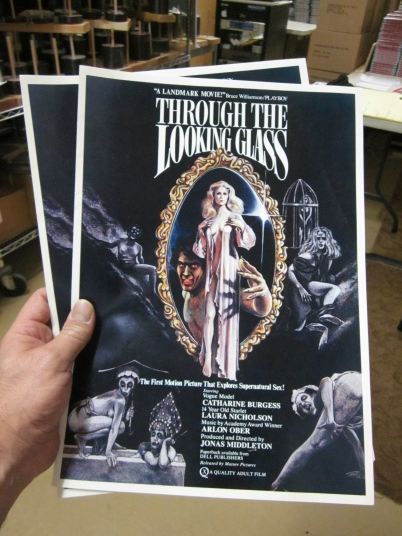 Original Press Books for Through The Looking Glass
