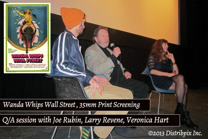 L to R: Joe Rubin, Larry Revene, Jane Hamilton- Wanda Q/A