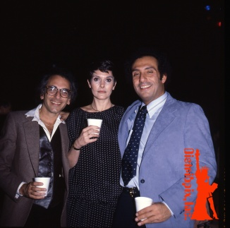 Distribpix founders, with Gloria Leonard, circa 1978.