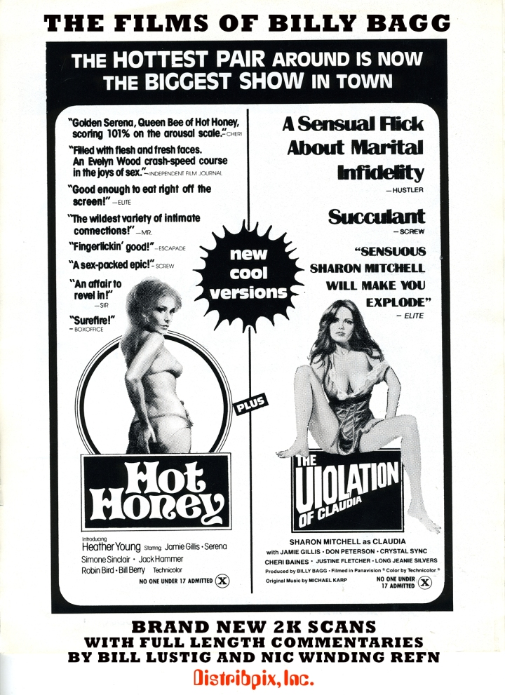 Bill Lustig X Rated Films