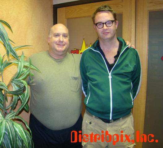 Bill Lusting and Nic Winding Refn, 2010.