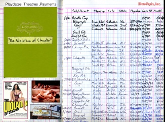 Original Playdate and Records for The Violation of Claudia