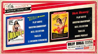 DVD Main Menu, The Billy Bagg Double Feature