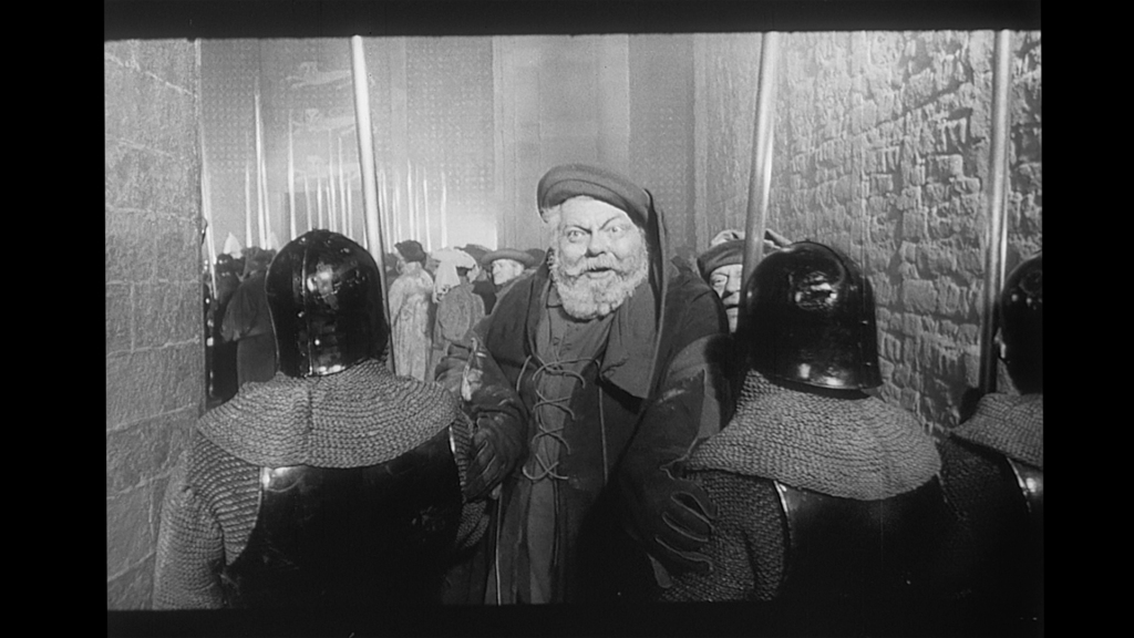 Falstaff, Chimes at Midnight, HD Screengrab, from 35mm Print.
